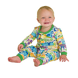 Zany Zoo Infant Pajamas