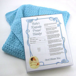 New Baby Blanket Heirloom Gift Set