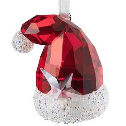 Swarovski Crystal Santa's Hat