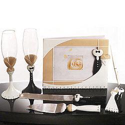 Black Tie Wedding Set