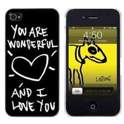 Lost Dog iPhone 4 Hard Case with Screen Protector