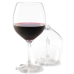 Packable Red Wine Glasses