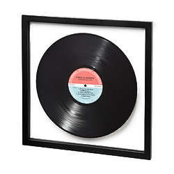 Custom Framed LP Record