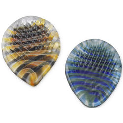 Ridged Glass Guitar Pick