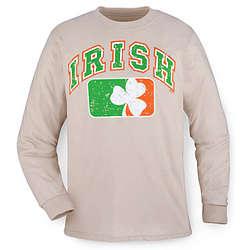 Distressed Irish Longsleeve T-Shirt