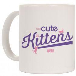 Too Cute Purple Kittens Ceramic Mug