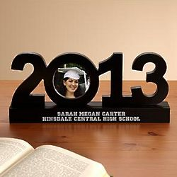 Personalized 2013 Graduation Frame Sculpture
