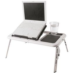 Collapsable Laptop Stand with Fan
