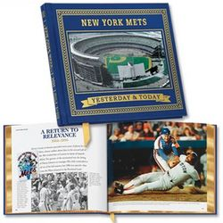New York Mets Yesterday and Today Book