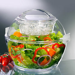 Easy Carry Iced Salad Bowl
