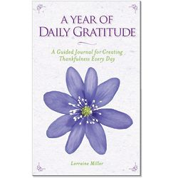 A Year of Daily Gratitude Guided Journal