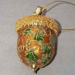 Acorn Christmas Tree Ornament