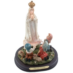 Our Lady of Fatima and Children Florentine Statue