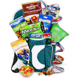 Hole in One Golf Bag Gift Basket