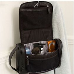 Personalized Toiletry Bag with 5 Piece Manicure Set