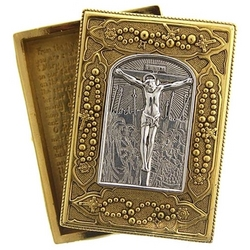 Crucifixion Rosary Box