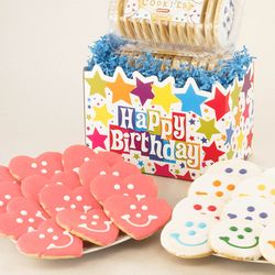 Happy Hearts Birthday Basket