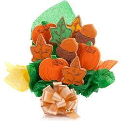 Happy Autumn Cookie Bouquet