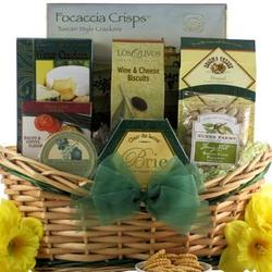Tempting Easter Cheese Delights Small Gourmet Gift Basket