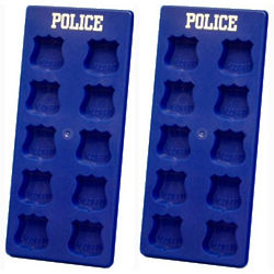 Police Officer Sheild Molds