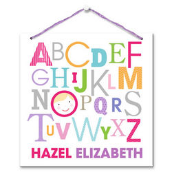 Personalized ABCs For Me Art Board