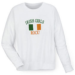 Irish Girls Rock Sweatshirt