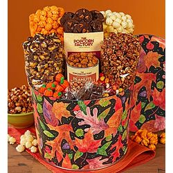 Fall Colors Snack Assortment Gift Tin