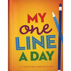 My One Line a Day Hardcover Journal