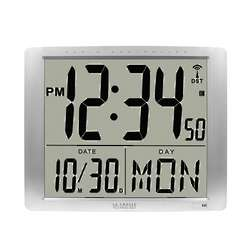 Jumbo Digits Atomic Digital Clock