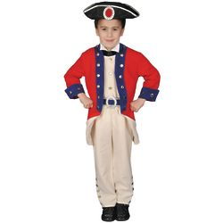 Boy's Colonial Soldier Costume