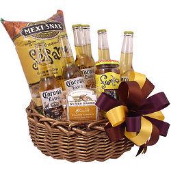 Corona Spice Beer Gift Basket