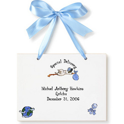 Personalized Boy Adoption Tile