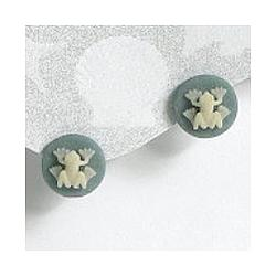 Post Style Frog Earrings