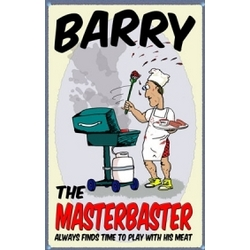Personalized Masterbaster Sign