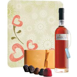 Warres Otima Port and Godiva Chocolates Gift Set