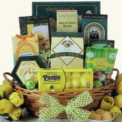 Small Easter Wishes Gourmet Gift Basket