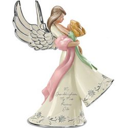 My Granddaughter, My Most Precious Gift Musical Angel Figurine