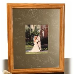 Oak Signature Picture Frame