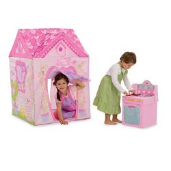 Sweetheart Cottage Tent with Play Stove