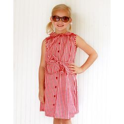 Red Gingham Madden Dress