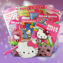 Hello Kitty Activities Gift Basket