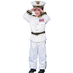 Boy's Navy Admiral Costume
