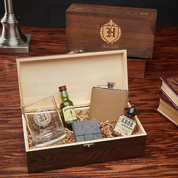 Oxford Personalized Whiskey Lover Gift Set