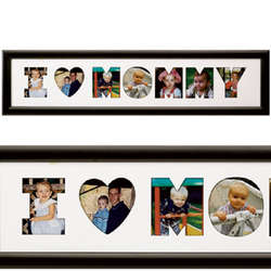 Personalized Women's I Heart Photo Collage
