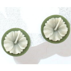 Hibiscus Post Style Earrings