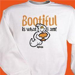 Personalized Youth Bootiful Ghost Sweatshirt