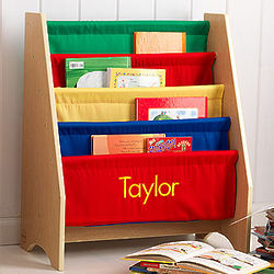 Personalized Girls' Little Readers' Bookcase