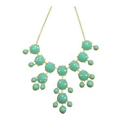Bubble Bib Statement Necklace