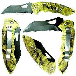 Woodsman's Camouflage Pocket Knife