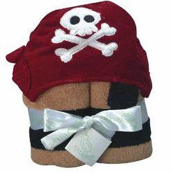 Kid's Pirate Hooded Towel